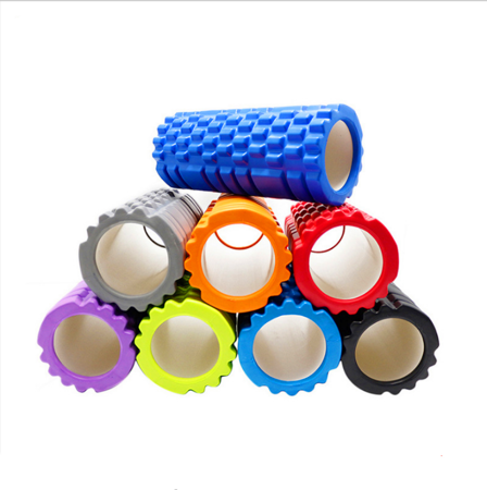 Massage / Exercise Roller for Yoga and Crossfit 33*14 cm GREEN